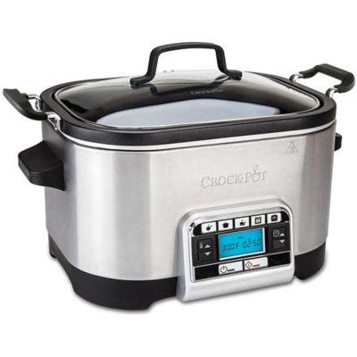 CrockPot&174 5.6L Family Multi & Slow Cooker CSC024