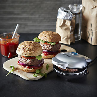 Lakeland Mini Single Burger Electric Griddle Grill Lakeland