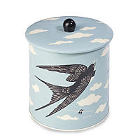 Country Fair Biscuit Barrel