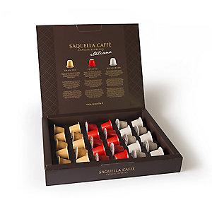 Saquella Coffee Pod Gift Set - 30 Pods (Fits Nespresso)