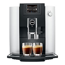 Jura E6 Bean-to-Cup Coffee Machine Platinum 15079