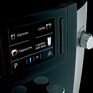 Jura E6 Bean-to-Cup Coffee Machine Platinum 15079 alt image 6