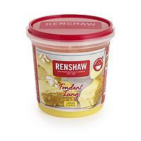 Renshaw Lemon Flavour Microwave Fondant Icing