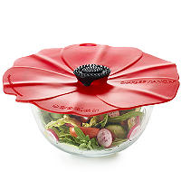 Microwave Cookware - Poppy Splatter Guard Bowl Cover