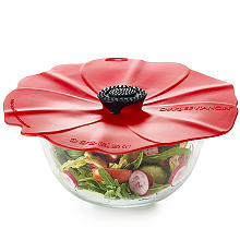 Microwave Cookware - Poppy Splatter Guard Bowl Cover 28cm