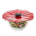 Silicone Poppy Bowl Cover and Splatter Guard 20cm