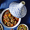 LAKELAND BLUE & WHITE TAGINE