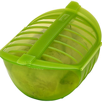 Lékué Microwave Cookware - Green Deep Steam Case 1L alt image 3