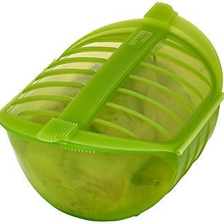 Lékué Mikrowellengeschirr - Dampfgarer, grün - 1 L alt image 3