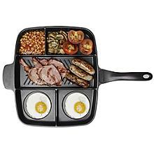 Master Pan Unterteilte Bratpfanne für ein warmes Frühstück
