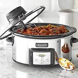 Crock•Pot® Schmortopf mit Umrühr-Automatik, 5,7 Liter