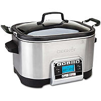 Crock·Pot® Digitaler Schmor- und Multifunktionstopf, 5,6 Liter