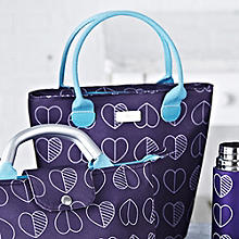 Hearts Lunch Tote