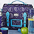 Hearts Lunch Satchel
