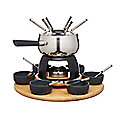 Artesa 6-Person Stainless Steel Fondue Set