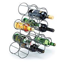 Bar Craft Iron Bottle Rack