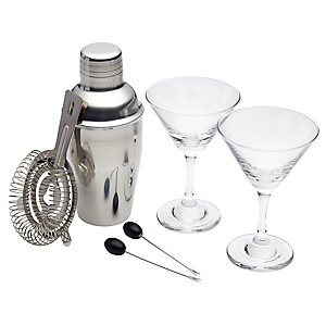 Bar Craft 6-Piece Mini Martini Set