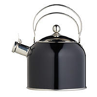Classic Collection Vintage 2.3 L Black Whistling Stovetop