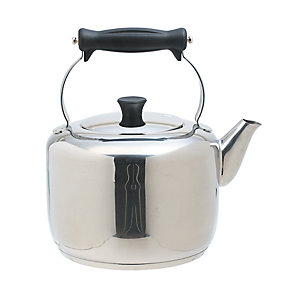 Masterclass Farmhouse Style 2.9 L Stainless Steel Stovetop Kettle
