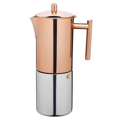 How To Use Le Xpress Coffee Maker : Le Xpress Copper Finish Stovetop Espresso Maker in kitchencraft at Lakeland