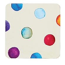 Polka Dot Place Mat & Coaster Set