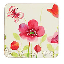 Poppy Field Place Mat & Coaster Set