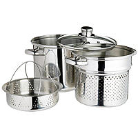 World of Flavours Pasta Cooker & Steamer