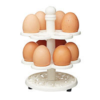 Kitchen Craft Vintage Cast Iron Egg Holder