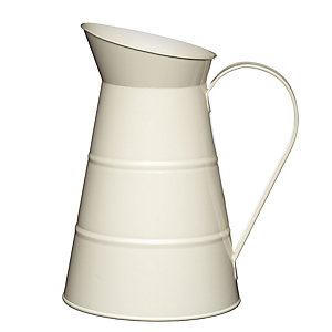 Living Nostalgia Antique Cream Water Jug