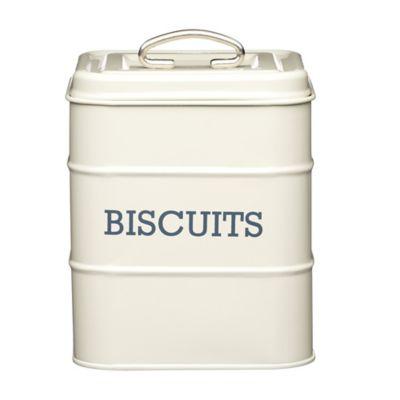 Living Nostalgia Biscuit Tin Antique Cream