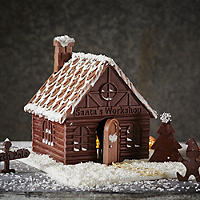 Lakeland Santa's Workshop Mould