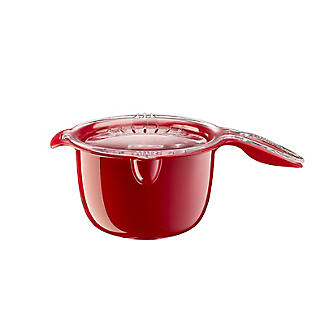 Microwave Cookware Stain Proof - Red Lidded Saucepan 0.9L alt image 4