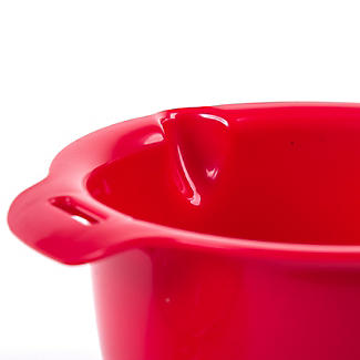 Microwave Cookware Stain Proof - Red Lidded Saucepan 0.9L alt image 6