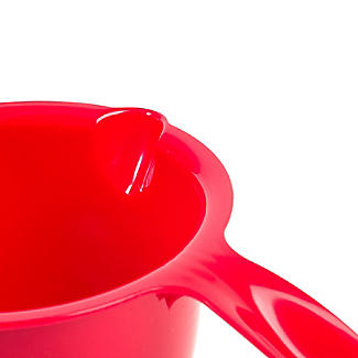 Microwave Cookware Stain Proof - Red Lidded Saucepan 1.2L alt image 5