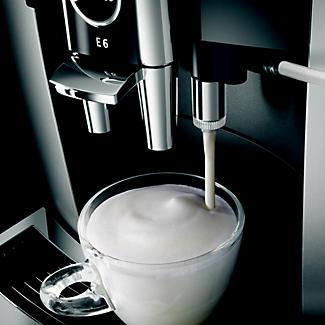 Jura E6 Kaffeevollautomat, Platin alt image 3