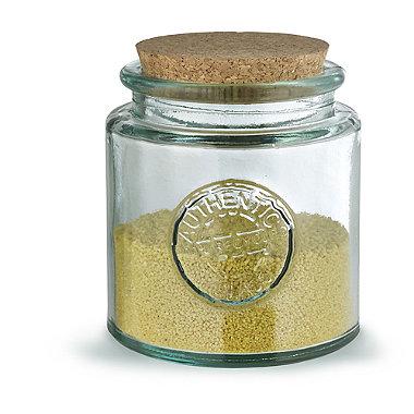 800ml Recycled Glass Storage Jar