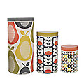 Orla Kiely Set of 3 Canisters