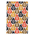 Orla Kiely Pear Print Tea Towel