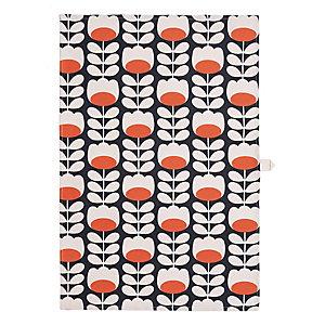 Orla Kiely Tulip Print Tea Towel