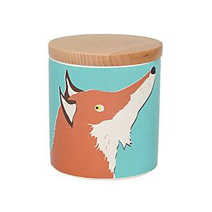 Joules 1 Litre Fox Storage Jar