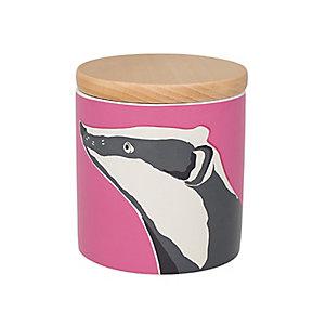 Joules 1 Litre Badger Storage Jar