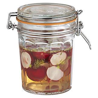 Kilner® Standard Clip Top Faceted Glass Jam Jar & Lid 450ml alt image 2