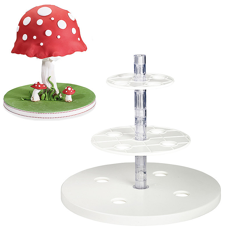 Tiers & Spheres Anti-Gravity Cake Kit