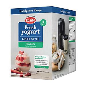 EasiYo Greek Style Rhubarb 1kg Yogurt Mix