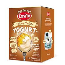 EasiYo Crème Brûlée 1kg Yogurt Mix (4 x 230g)