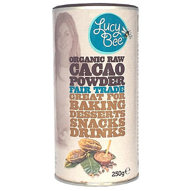Lucy Bee Organic Fair Trade Raw Cacao Powder