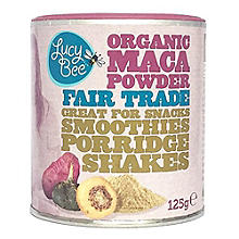 Lucy Bee Organic Fair Trade Maca Powder