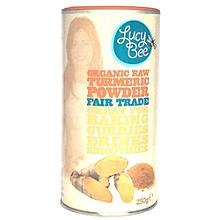 Lucy Bee Organic Fair Trade Raw Turmeric Powder