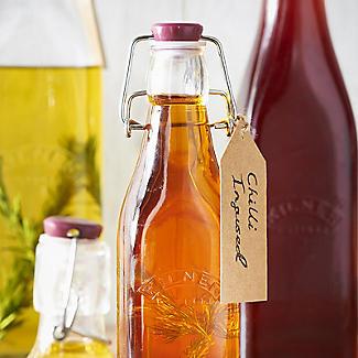 3 Kilner® Square Clip-Top Bottles 1 litre alt image 3