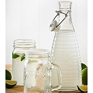 2 Kilner® Rippled Clip-Top Bottles 850ml alt image 3